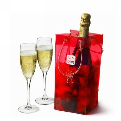 Champagnekoeler of wijnkoeler Icebag Design Collection Cherry