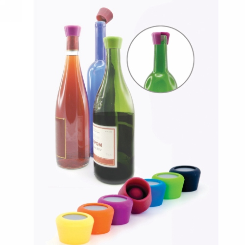 Set van 2 Silicone winestopppers